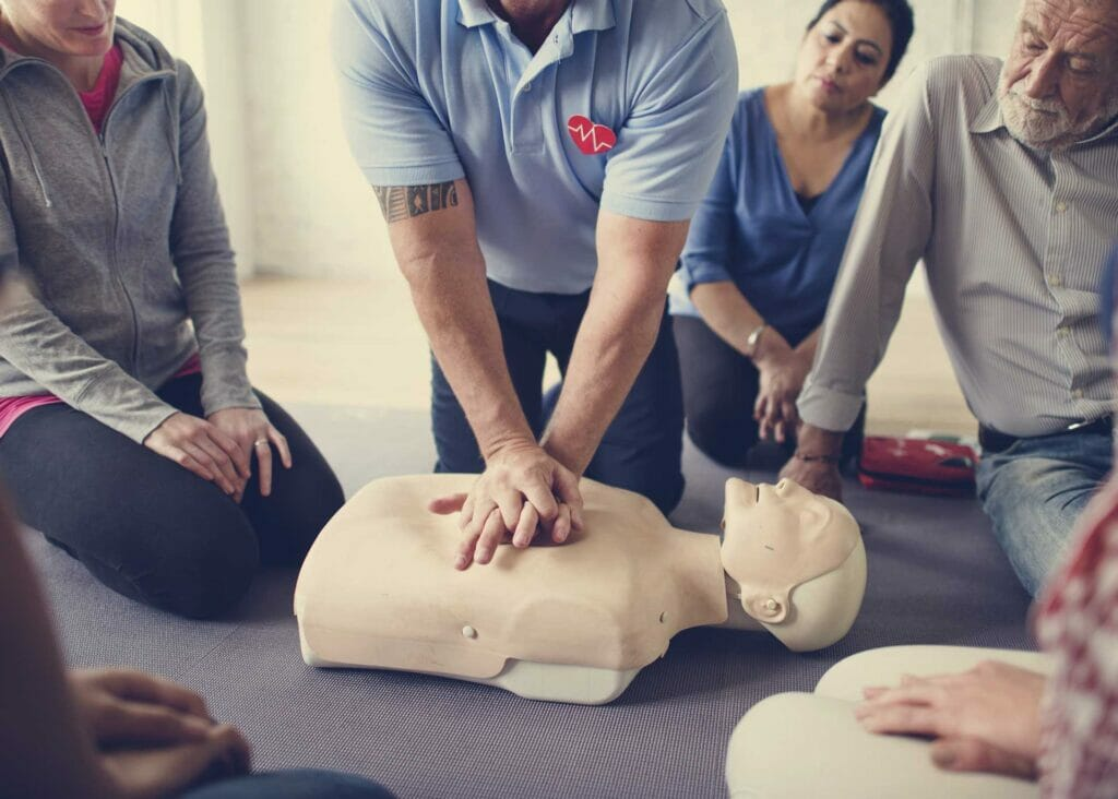 first aid officer & cpr training course